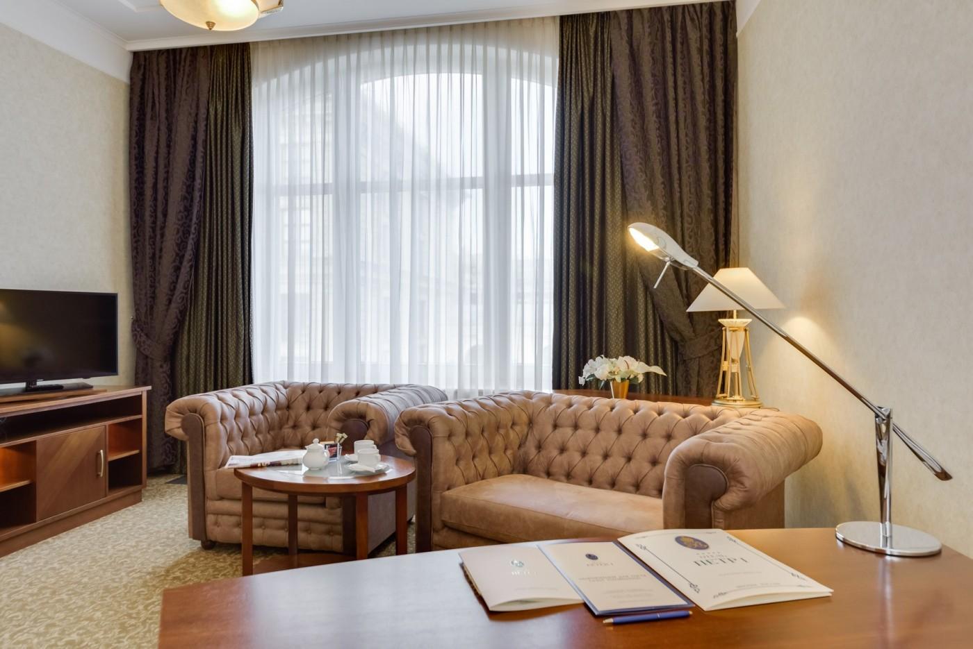 Люкс с двумя спальнями на Клубном этаже